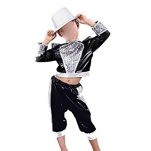 Xiao Jian- Kinder Kostüme Jungen und Mädchen Jazz - Mädchen Jazz Kostüme