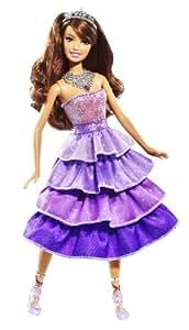 Barbie - R4110 - Poupée - Princesses Etincelantes - Teresa Princesse Spotlight