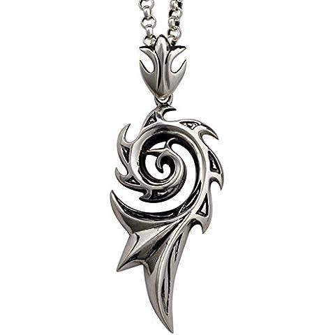 ZWX Maschile argento collana pendente/ monili d'argento-A