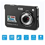 Youmeet Digital Cameras - 2.7 inch 18 MP Compact Digital Camera for Holiday