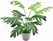 Yatai Artificial Monstera Leaf Simulation Greenery Plants, Garden Decor, Indoor Decoration, Artificial Plant