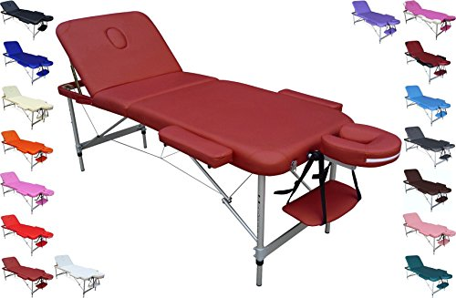 Lettino Per Massaggio Portatile In Alluminio.Polironeshop Europa Lettino Portatile Pieghevole Leggero Con
