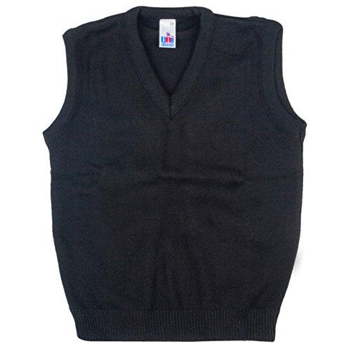 School-Uniform-V-Neck-Tank-Top-Sleeveless-Jumper-NEW