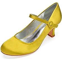 50d278c0f7 AIMISHOES Zapatos De Vestir De Novia De Tacón Alto para La Novia Zapatos De  Fiesta por