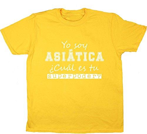 hippowarehouse-yo-soy-asiatica-cual-es-tu-superpoder-camiseta-manga-corta-ninos-ninas-unisex