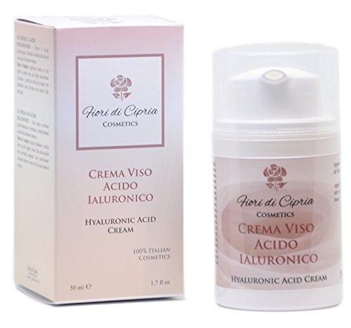 Hyaluronsäure Creme - Diese Feuchtigkeit-Creme Enthält Hyaluronsäure, Vitamine Und Antioxidantien. Dies Hydratisiert Und Mildert Falten - 50 ml