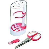 Kitchen Craft - Set per conservare le erbe aromatiche, 3 pz, colore: trasparente