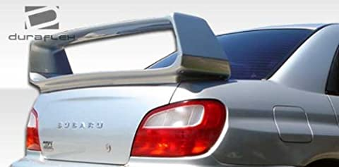 2002-2007 Subaru Impreza WRX STI 4DR Duraflex STI Look Wing Trunk Lid Spoiler - 1 Piece by Duraflex
