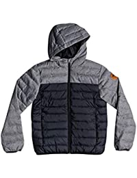 a3d42646307ed Quiksilver Scaly Mix - Water-Resistant Hooded Insulator Jacket - Boys 8-16