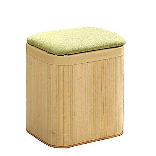 YLCJ Poggiapiedi Sgabello di stoccaggio Sgabello per la casa Divano ottomano Sgabello per Cambio Sgabello Sgabello Crescente (Colore: A)