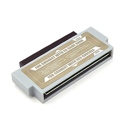 Famicom 60 Pin To NES 72 Pin Adaptateur Convertisseur pour Nintendo NES Console System (FC To NES Convertisseur )