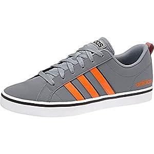 Adidas Vs Pace, Chaussures de Basketball Homme, Gris Grey/Silvmt/Cblack, 44 EU