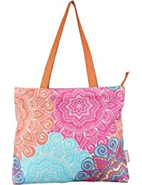 Nostaljia Canvas Tote Bag for Women and Girl's(Multicolour)