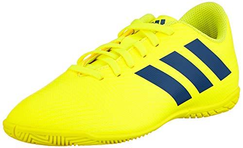 adidas Unisex-Kinder Nemeziz 18.4 In J Fußballschuhe Mehrfarbig (Amasol/Fooblu/Rojact 000) 31.5 EU (Adidas Fußball Schuhe Messi Kinder)