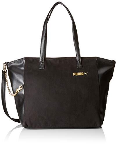 PUMA 75415, Backpack Mujer, Negro, Talla única