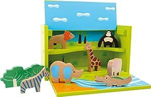 Legler - Caja de Juego Zoológico de Madera (5715)