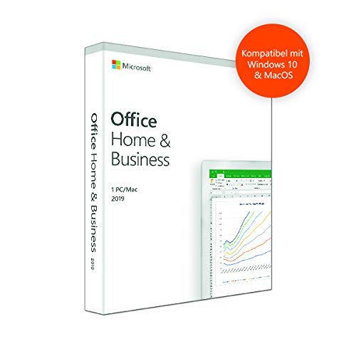 Microsoft Office Home & Business 2019 [1PC/Mac] [Software-Download] - Word, Excel, PowerPoint, OneNote, Outlook (Onenote Mac Microsoft Für)