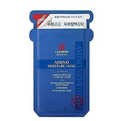 Leaders Mediu Amino Moisture Mask Packs Facial Skin Care Moisturizing 10 Sheets from Leaders