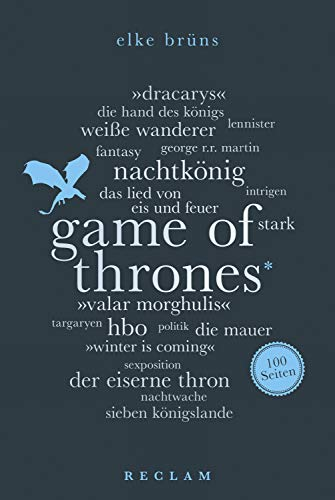 Game of Thrones. 100 Seiten: Reclam 100 Seiten (German Edition ...