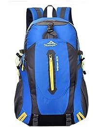 4df54a626c Di Grazia Travel Hiking Trekking Carryon Waterproof Backpack Rucksack (Blue