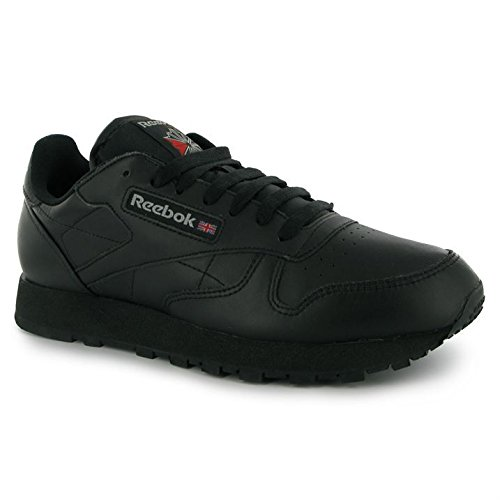 reebok-mens-classic-leather-trainers-casual-sports-shoes-footwear-black-uk-943