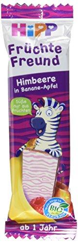HiPP Früchte-Freund Zebra, Himbeere in Banane-Apfel, 1er Pack (1 x 23 g)