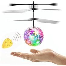 Fliegendes Spielzeug,OHQ LED Blinklicht Flugzeug Hubschrauber Fliegen RC Elektrische Kugel Induktion Spielzeug