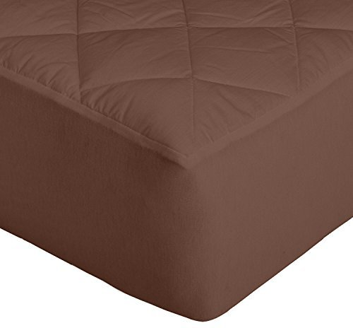 Cloth Fusion Patron 2Nd Gen Waterproof Cotton Mattress Protector, King Size 78x78-inch (Darkbrown)