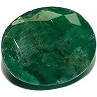 Esmeralda de Pakistán piedra preciosa natural & facettiert 3.81quilates