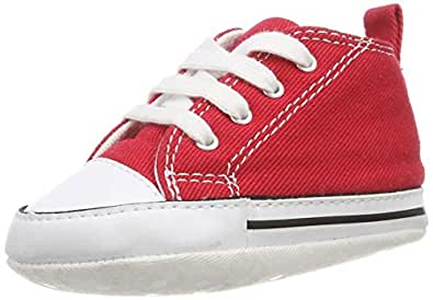 Converse First Star 88875, Sneaker, Unisex bambino, Rosso, 17