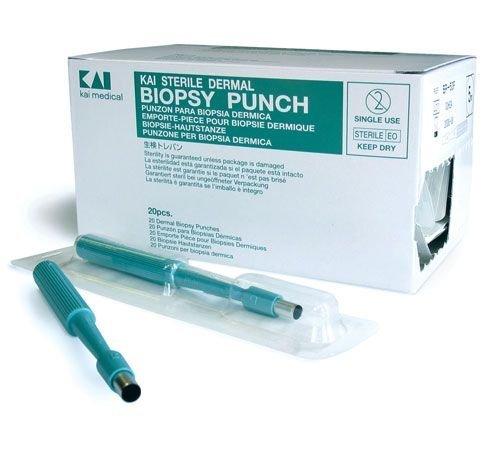 Kai bp-80F 8,0mm Durchmesser steril Einmalhandschuhe Biopsy Punch (20Stück)