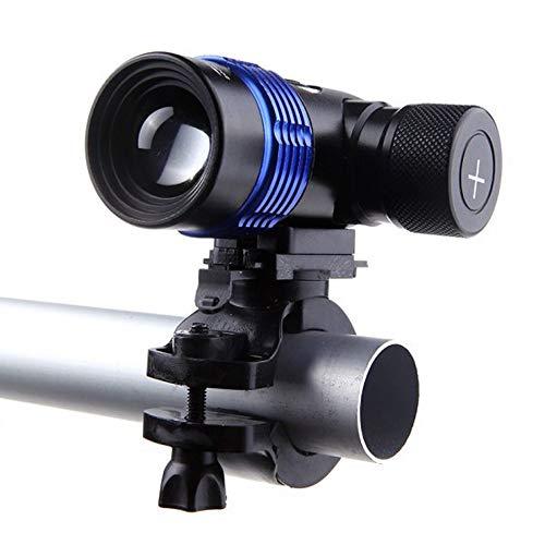 Glowjoy XML T6 LED Fahrradlicht mit 3 Modes,18650 Ladegerät Akku Fahrrad Scheinwerfer Taschenlampe,IP65 Wasserdicht Frontlicht Frontscheinwerfer Fahrradlampe Fahrradlichter