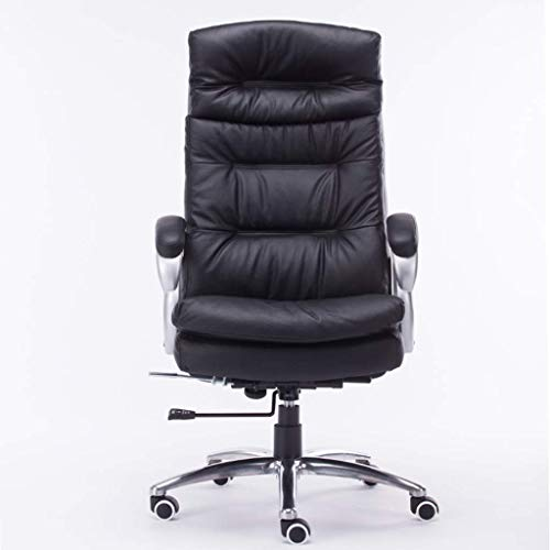NJHGVVC Computer Stuhl Mode Chef Stuhl Liegender Bürostuhl Haushalt Leder Stuhl Studie Drehstuhl Chefsessel Massagestuhl
