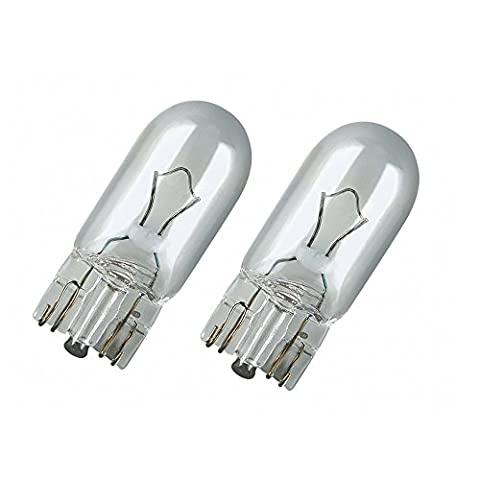2x Genuine Osram Original W5W (501) 5w 12v Clear Bulbs [2825-02B] - Part Number 2825-02B