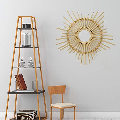 Decorativos marco espejo pared En forma corazón vintage