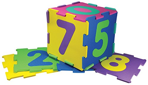 Kinder-Garden - Puzzlematte 10-Zahlen, Spielteppich