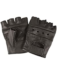 Biker Finger Cots without Studs Black S – XXL