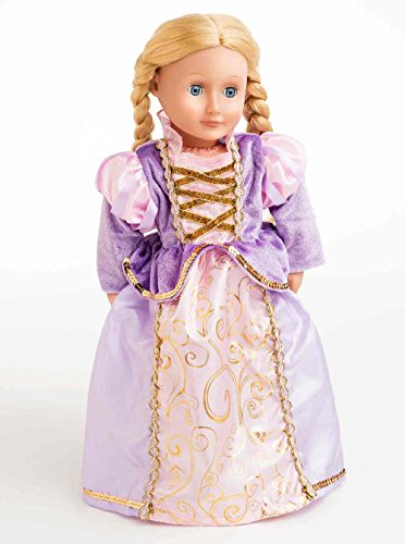 Little Abenteuer Little adventures41340Classic Rapunzel Doll Kleid