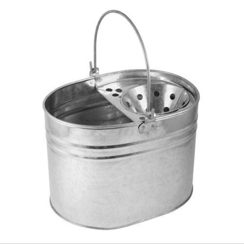 homax-heavy-duty-metal-mop-bucket-galvanised-strong-13-litre-capacity-for-cleaning-new