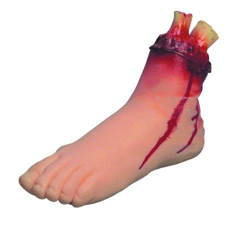er Fuß - Halloween Deko (Halloween Leichenteile)