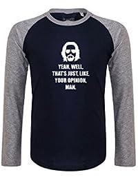 Brand88 - Yeah, Well, That's Just, Like, Your Opinion, Man Camiseta Larga De La Manga De Los Niños