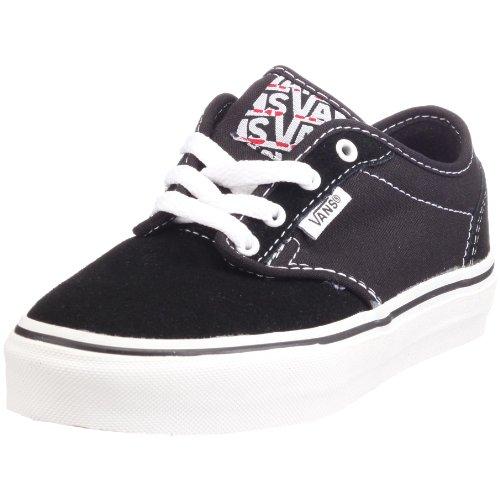 Vans VKI5BA2 Y ATWOOD, Unisex - Kinder Sneaker Schwarz (Black/White)