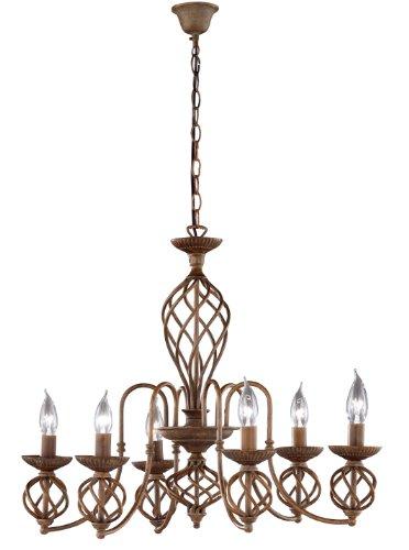 Honsel 13816 Lampe suspension Métal vieilli