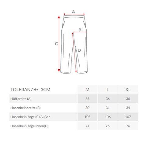 OZONEE Herren Sporthose Trainingshose Baggy HOTT RED 2231 Dunkelgrau_BBG550