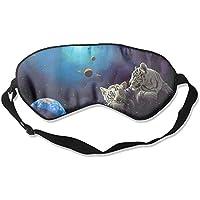 Sleep Eye Mask Tiger Space Artwork Lightweight Soft Blindfold Adjustable Head Strap Eyeshade Travel Eyepatch E16 preisvergleich bei billige-tabletten.eu