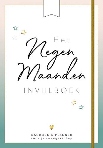 Het negen maanden invulboek por Eva Reinders