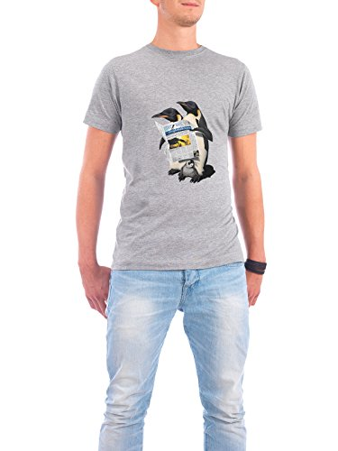 "Design T-Shirt Männer Continental Cotton ""Read All Over (wordless)"" - stylisches Shirt Tiere Natur von Rob Snow Grau"
