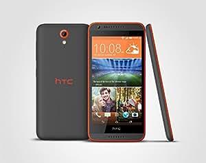 HTC Desire 620 12.7 cm (5 pouces) 1.2 GHz Quad Core 8 Go 8 MPix AndroidTM 4.4 gris-orange (import Allemagne)