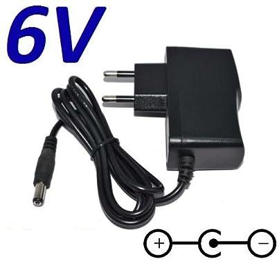 Adaptateur Secteur Alimentation Chargeur 6V pour Remplacement Radio Sony ICF-7600D puissance du câble d'alimentation de CARGADOR ESP