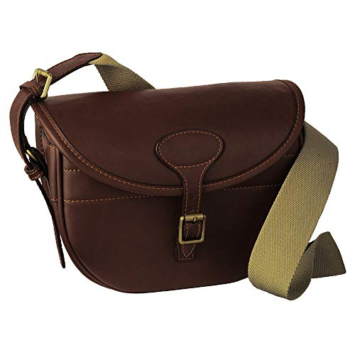 b2ae3da4e8a9 Guardian Heritage Leather Cartridge bag 125 capacity with brass fittings